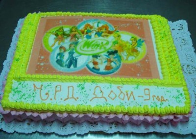 Захарно Петле-детски торти (30)