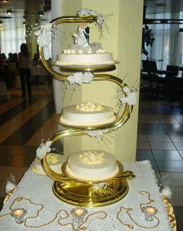 Захарно Петле-сватбени торти (12)